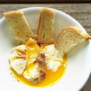 "Huevos Tibios (""Egg Soup"")."