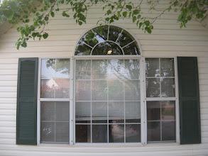 Photo: Original Metal Window