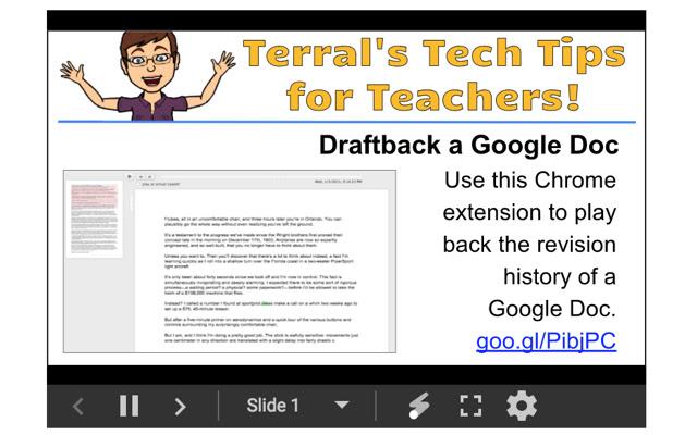 Terral's Tech Tips for Teachers