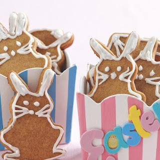 Gingerbread Bunny Cookies