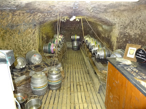 Photo: The cellar dungeon of Ye Olde Trip to Jerusalem in Nottingham.