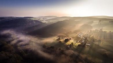 Photo: #Sonnenaufgang und #Nebel im #Sauerland - Garant für spektakuläre Fotos :-) - #Sunrise and #fog in the Sauerland region in western #Germany - garanties you spectacular shots - #photomaniagermany curated by +Nicole Gruber & +Sandra Deichmann & +Markus Landsmann & +dietmar rogacki & +Photo Mania Germany - #aerialphotography #luftbilder #Lüdenscheid #märkischerkreis #DJI #phantom2vision