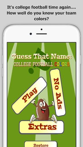 College Football Color Quiz