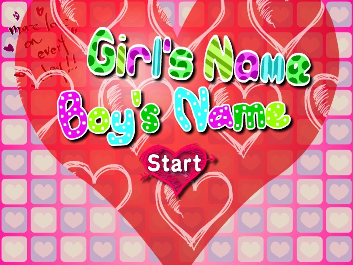 True Love Name Test - Android Apps on Google Play