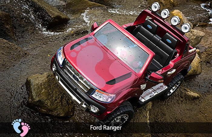 Ô tô điện trẻ em 2 chỗ ngồi Ford Ranger 8