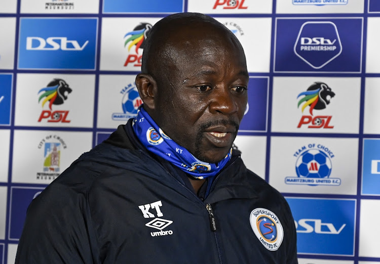 SuperSport United coach Kaitano Tembo is facing a tough January schedule.
