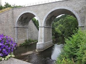 Photo: Railway bridge at Trois Pont