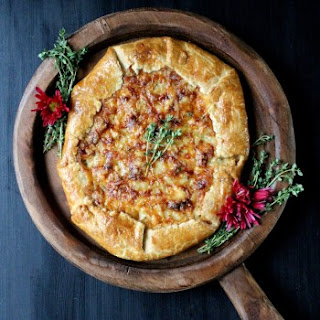 Sweet Onion Galette w/ Fontina & Thyme