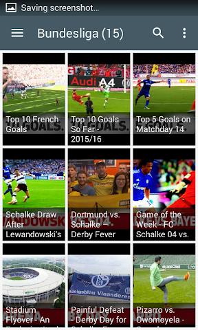 android Live Football Score Bundesliga Screenshot 5