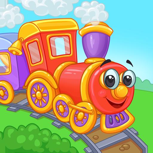 Железная дорога: поезд для детей