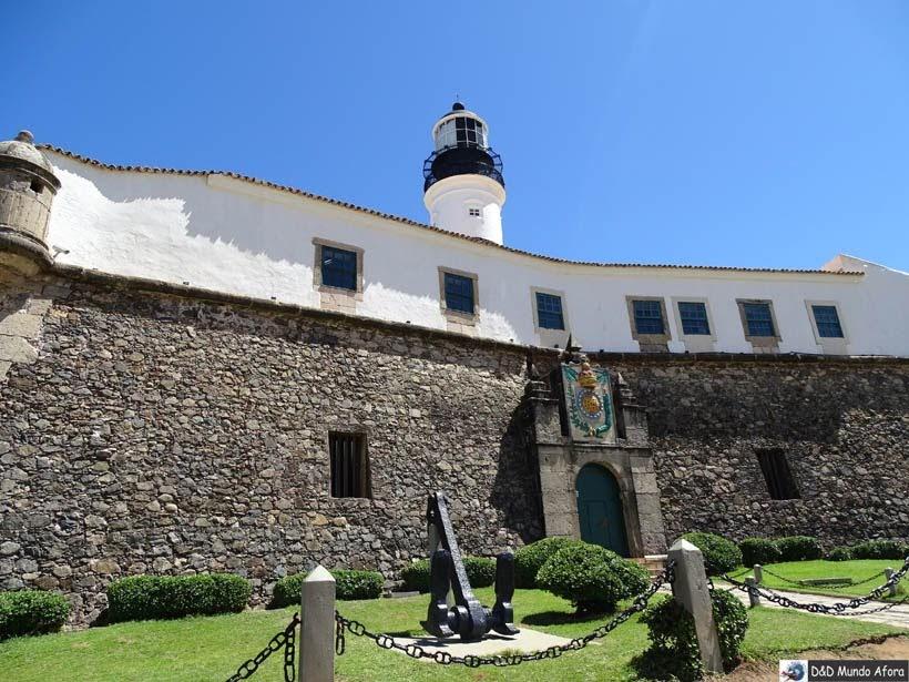 O que fazer em Salvador (Bahia) - Forte de Santo Antônio da Barra