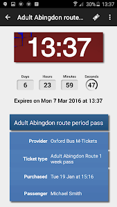 Oxford Bus and X90 m-Tickets screenshot 6