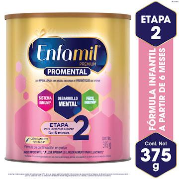 FORMULA INFANTIL ENFAMIL   PREMIUM 2 DHA+MFGM X375G.