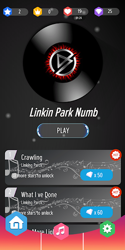 Linkin Park Magic Piano Tiles 0.5 screenshots 1