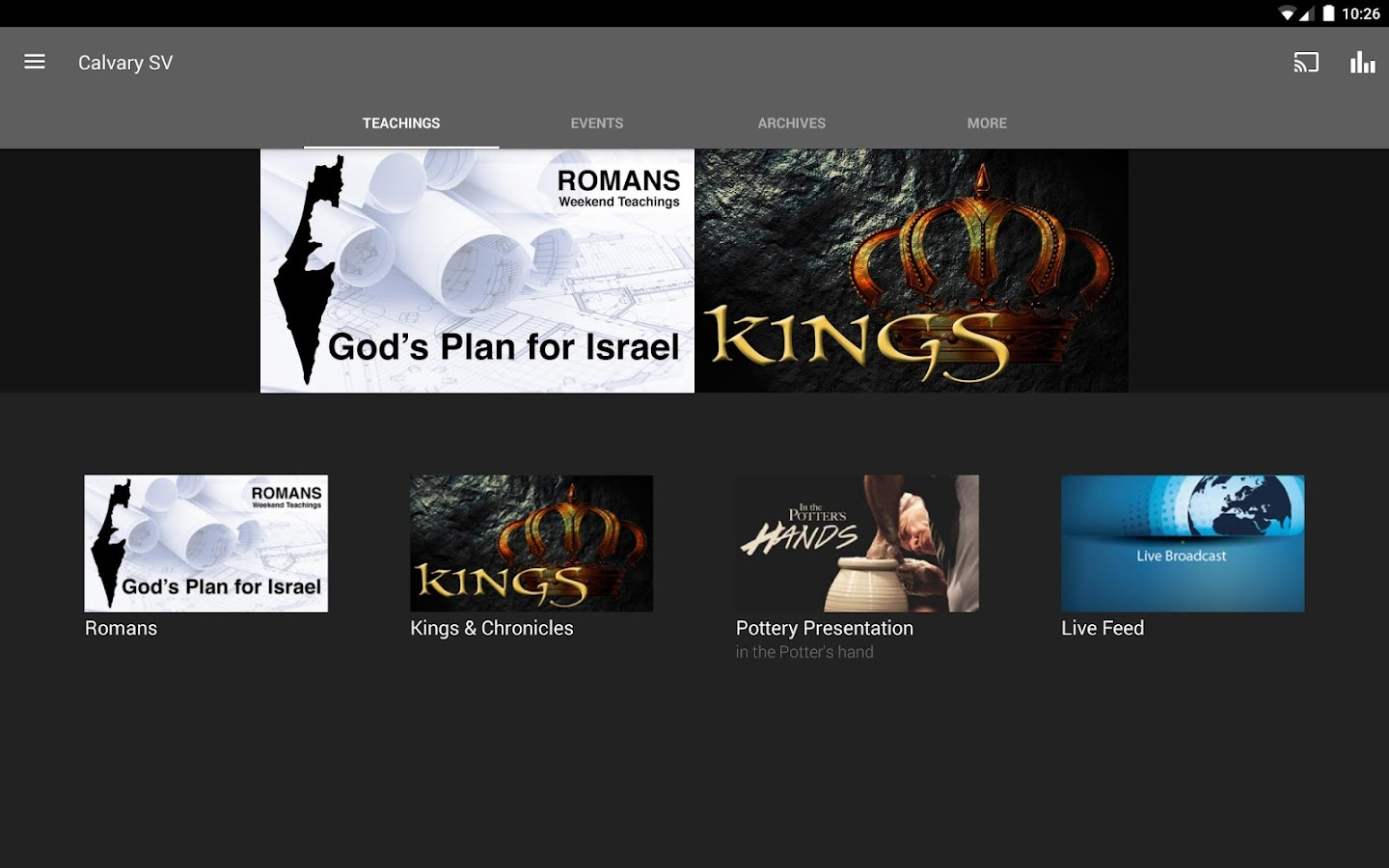 Calvary Chapel Sierra Vista- screenshot