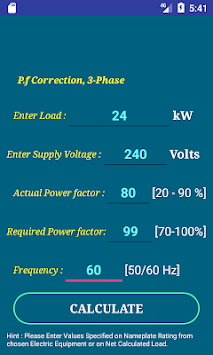 Download pec wire size calculator free apk latest version app for pec wire size calculator free poster greentooth Choice Image