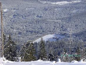 Photo: Spektakuläre Aussicht von der Kleiner-Arbersee-Wand zur Mosshütte