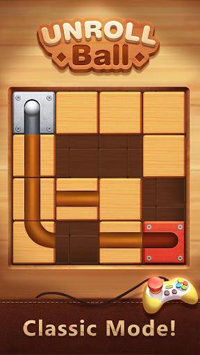 Unblock The Ball - Roll & Drag Block Puzzle Games screenshot 7