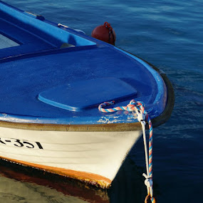 Standing Still by Goran Grudić - Transportation Boats ( water, ostro, primorje, croatia, sea, fishing, boat, kvarner )