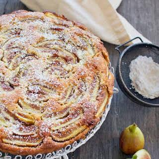 Fig & Almond Tart.
