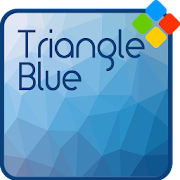 Triangle Blue Theme