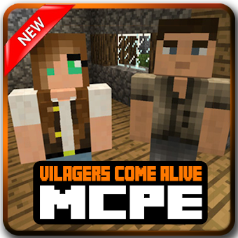 Villagers Alive for Minecraft