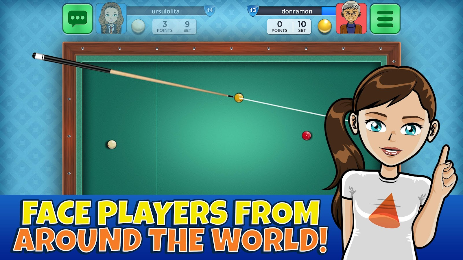 French Billiards Casual Arena- screenshot