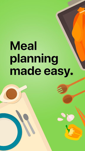 Screenshot for Mealime - Meal Planner, Recipes & Grocery List in United States Play Store