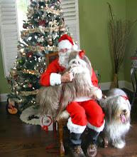 Photo: Neela barked at Santa till she realized it was her GrandPa Jean