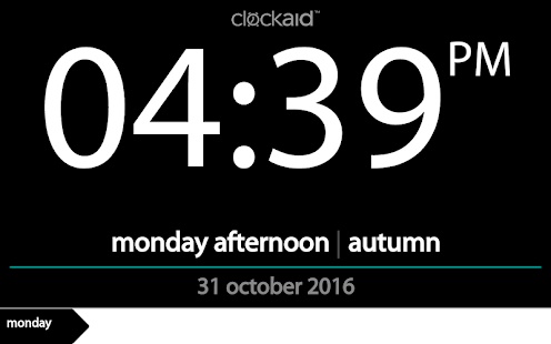 Clockaid- screenshot thumbnail