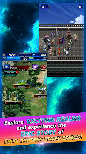 FINAL FANTASY  BRAVE EXVIUS apkpoly screenshots 12