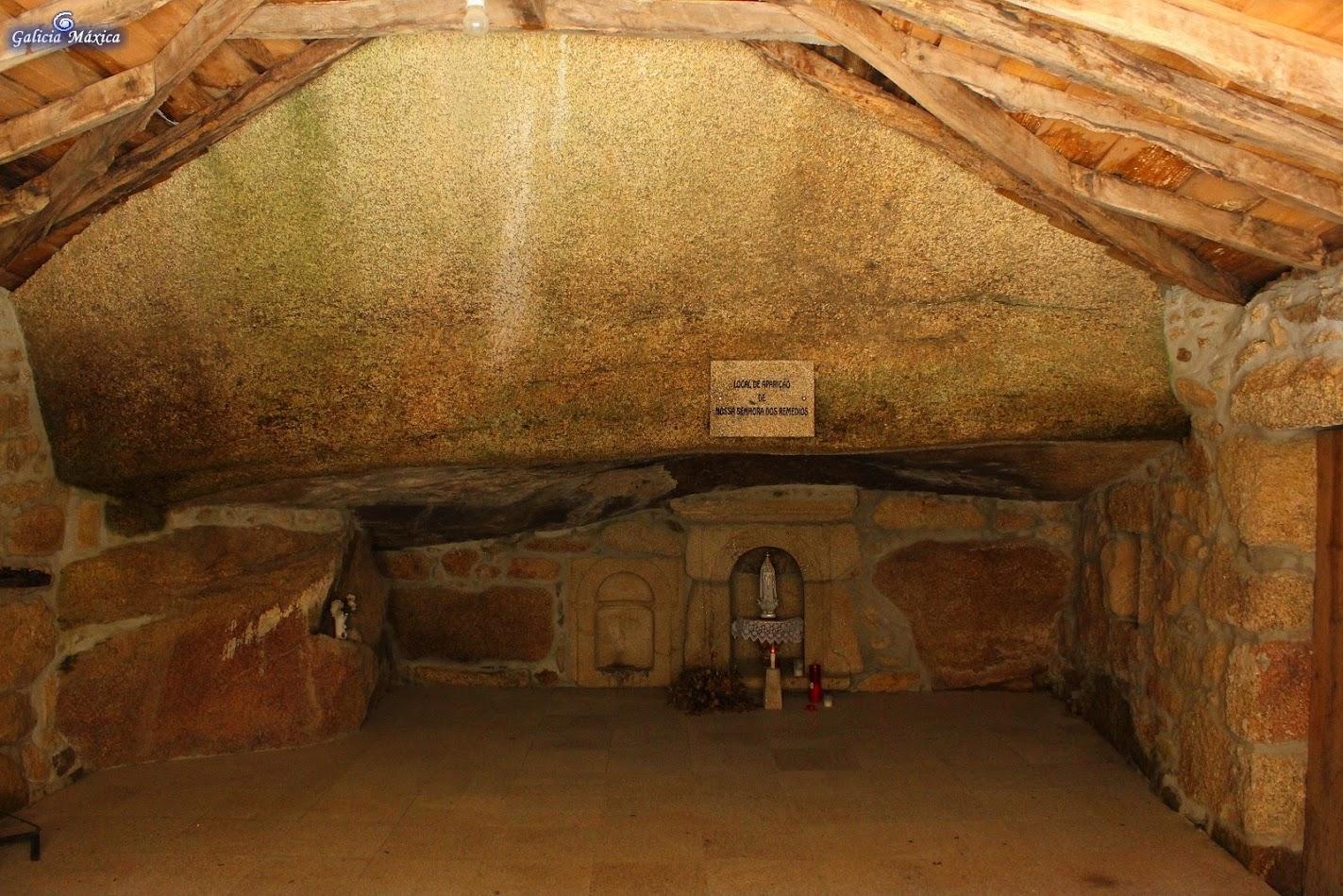 Interior de la cavidad