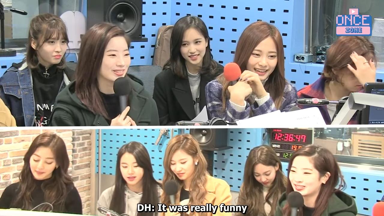 FULL ENG SUB 171110 SBS Power FM 'Choi hwajung's Powertime' with TWICE 30-30 screenshot