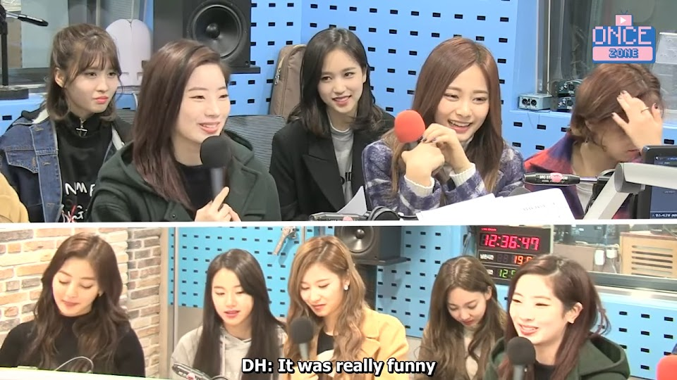 FULL ENG SUB 171110 SBS Power FM 'Choi hwajung's Powertime' with TWICE 30-30 screenshot