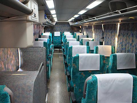 大分バス「とよのくに号」スーパーノンストップ便 ・335 車内