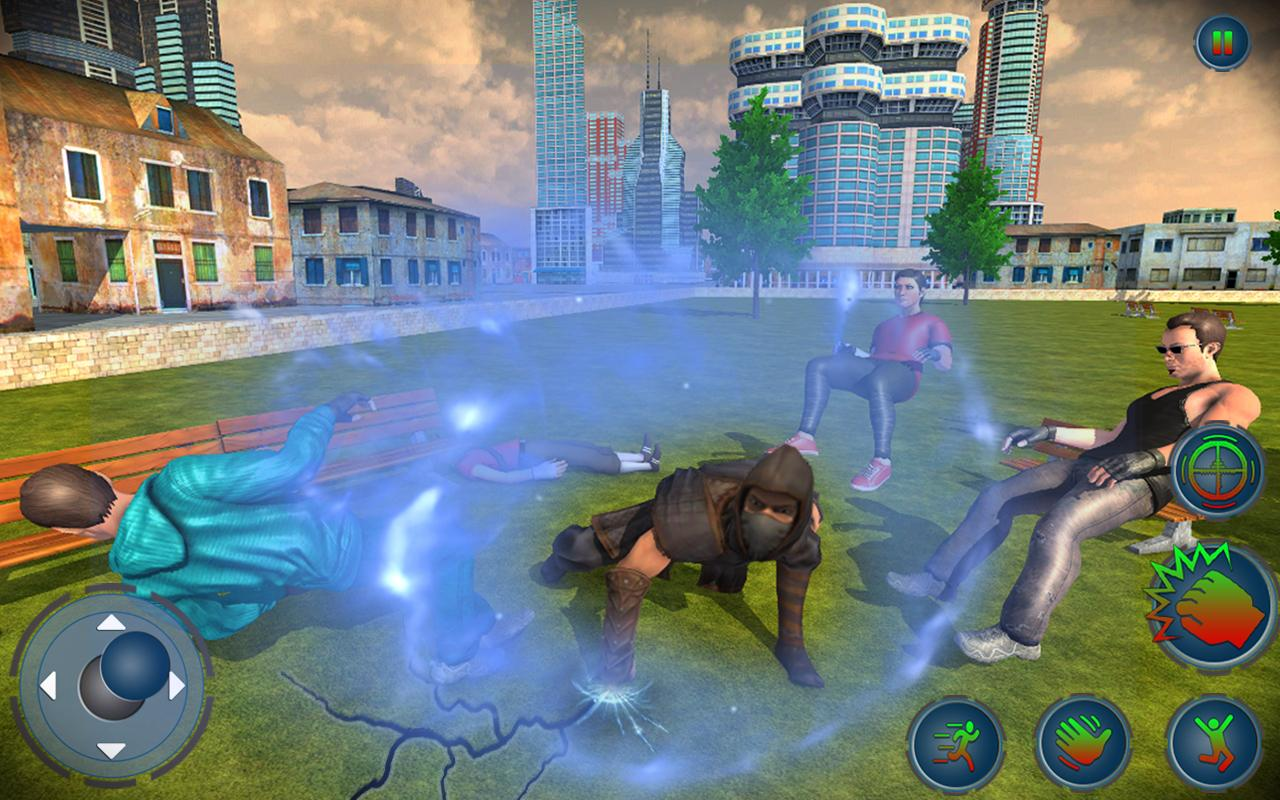 Super Ninja City Gangster Fighting Game- screenshot