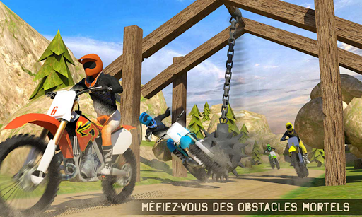 🏁 Trial Xtreme Salet Vélo Course Jeux: Fou Course  captures d'écran 1