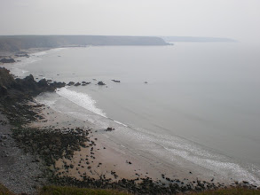 Photo: From Marloes Sands to Broad Haven (Ragged Rocks and Marloes Sands)