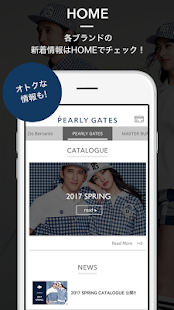 PEARLY GATES(パーリーゲイツ)公式アプリ- screenshot thumbnail