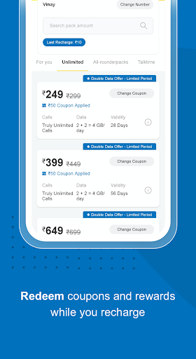 My Idea-Recharge and Payments 1.1.7 screenshots 4