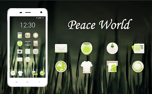 Peace World Icons - Icon Pack Screenshot