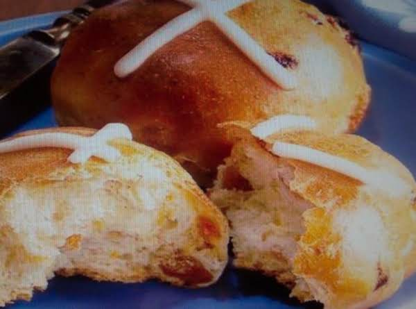 Easter Hot Cross Buns,  For  Good Friday Recipe