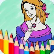Princess Coloring Book & Drawing Pad