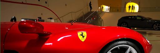 Ferrari Musée Italie sejour moto
