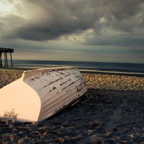 Ocean City, NJ by Josiah Blizzard - Landscapes Beaches