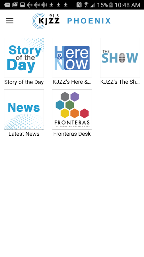 KJZZ Phoenix- screenshot