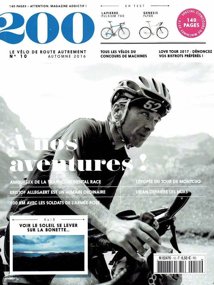 le N°10 du magazine 200 vient de paraître