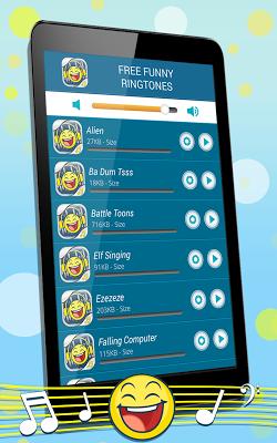Free Funny Ringtones - screenshot