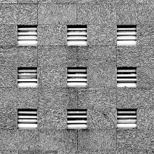 "Photo: ""3 x 3""  For +Repetitive Tuesday curated by +Ping Doherty +Andy Q. and +Frank Schillinger  Also for #ArchitextureTuesday  curated by +Ranjan Saraswati   #blackandwhite   #blackandwhitephotography   #monochrome   #abstract   #repetitivetuesday"