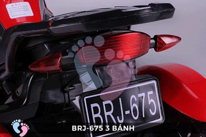 Xe moto điện trẻ em BRJ-675 3 bánh 20